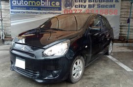 2015 Mitsubishi Mirage GLX Black For Sale
