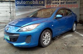 2013 Mazda 3 Blue Sedan For Sale
