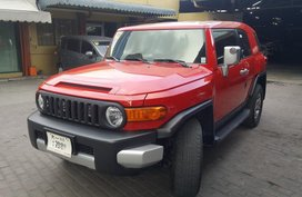 2016 Toyota FJ Cruiser Red For Sale