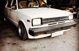 Toyota Starlet 1981 model old but Gold