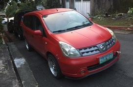 Nissan Grand Livina 2008 Red For Sale