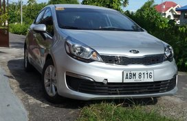 KIA RIO Silver 2015 Top of the Line For Sale