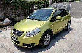 2013 Suzuki SX4 Crossover AT Green For Sale