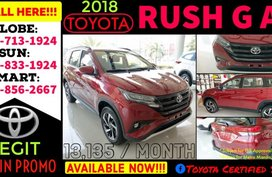 2018 New Toyota Rush G 1.5 AT Promo For Sale