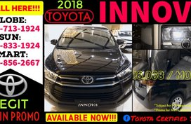2019 New Toyota Innova E Diesel AT Available now Call 09988562667 Brand New Casa Sale