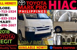 2018 Brand New Toyota Hiace Commuter 92k Lowest Net DP MT