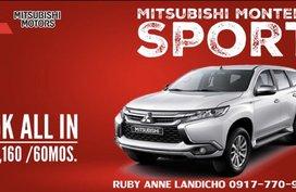 Mitsubishi Montero Sport New 2018 For Sale