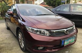 2012 Honda Civic FB Red For Sale