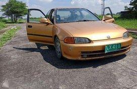 Honda INTEGRA esi 1991 model MT FOR SALE