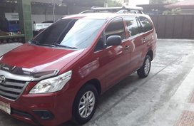 Toyota Innova 2016 Red For Sale