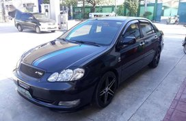 B-black Toyota Altis 2007E For Sale