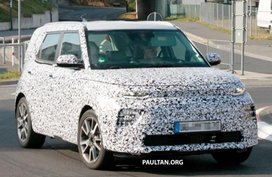 Spyshots: Kia Soul 2019 EV caught, revealing its tweaked interior