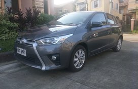 Toyota Yaris 2015 Gray HB For Sale