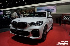 BMW X5 2019 on display at 2018 Paris Motor Show