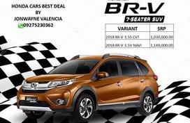Honda Brv 1.5S CVT 2018 For Sale