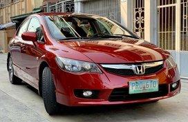 2010 Honda Civic 1.8S Red Sedan For Sale