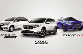 Launch of special edition models of the Honda CR-V, Civic & Mobilio in PH