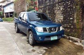 2008 Nissan Navara LE Blue For Sale