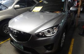 Mazda Cx-5 2013 Gasoline Manual Grey for sale