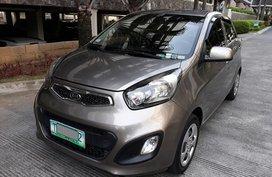 KIA PICANTO 2012 EX MT Gray For Sale