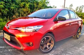 Toyota Vios 2016 Manual Red For Sale