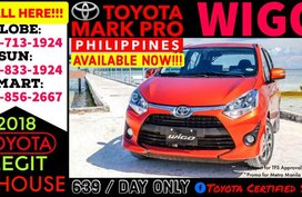 2019 Toyota Wigo TRD Hiend Automatic Call 09177131924 Now