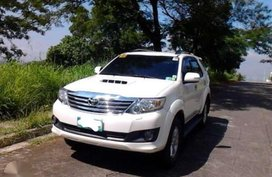 Toyota Fortuner 2013 Diesel FOR SALE