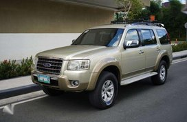 2009 4WD Ford Everest TDCI Limited Edition