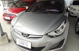 Hyundai Elantra 2014 Gasoline Automatic Silver