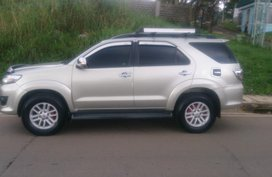 Almost brand new Toyota Fortuner Diesel 2012