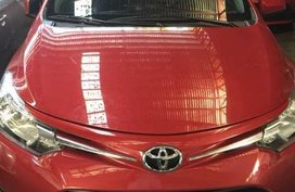 2017 TOYOTA Vios E manual red
