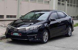2016 Toyota Corolla Altis 1.6G 7 speed CVT Automatic
