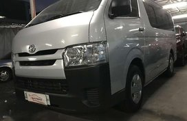 2018 Toyota HIACE Commuter MT 2tkms only