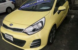 2016 Kia Rio Yellow For Sale