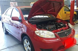 2005 Toyota Vios E M/T Red For Sale