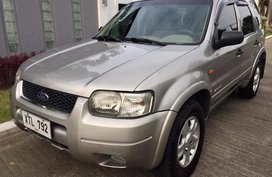 Ford Escape Xls 2005 Silver For Sale