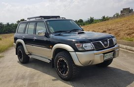 2001 Nissan Patrol Black For Sale