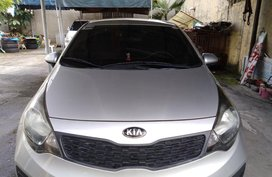 2013 Kia Rio Manual Silver Sedan For Sale