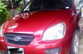 Kia Carens 2008 Red SUV For Sale