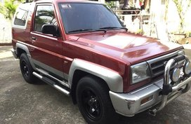 Almost brand new Daihatsu Feroza Gasoline 1999