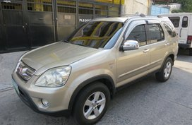 2006 HONDA CRV FOR SALE