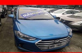 2016 Hyundai Elantra 1.6l AT Gas Blue