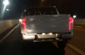 [Spy shot] This is how the Mitsubishi Strada 2019's taillights look like