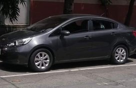 Kia Rio 2015 Gray Sedan For Sale