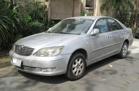 Toyota Camry 2003 model Color: Silver Automatic