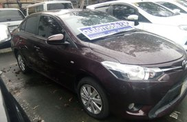2017 Toyota Vios E Gas AT Brown For Sale