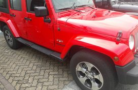 Jeep Wrangler unlimited sahara 2.8L CRD 2016