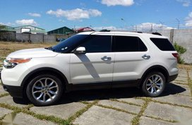 2012 FORD EXPLORER 4X4 3.5L Displacement Gas Engine