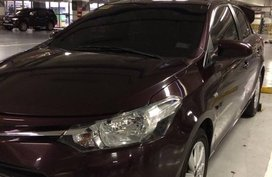 Toyota Vios E 2016 Red For Sale