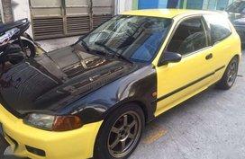 Honda Civic Hatchback Model 1994 B16 Engine Japan